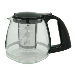 Glass Tea Pot with Tea Strainer 800mlStainless Steel Vacuum Coffee Pot