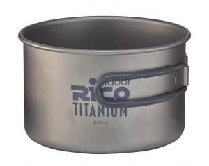 Titanium Camping Pot 800ml
