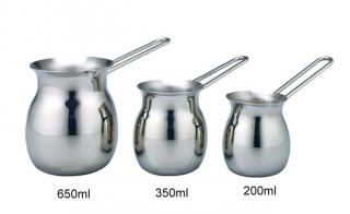 Stainless Steel Coffee & Milk Jar