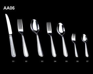 Stainless Steel Tableware (Knife, Fork& Spoon Set)