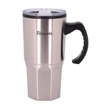 Stainless Steel Double Wall Coffee Mug 16oz With Handle
