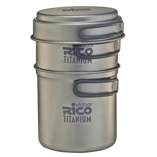 Titanium Camping Pot Set