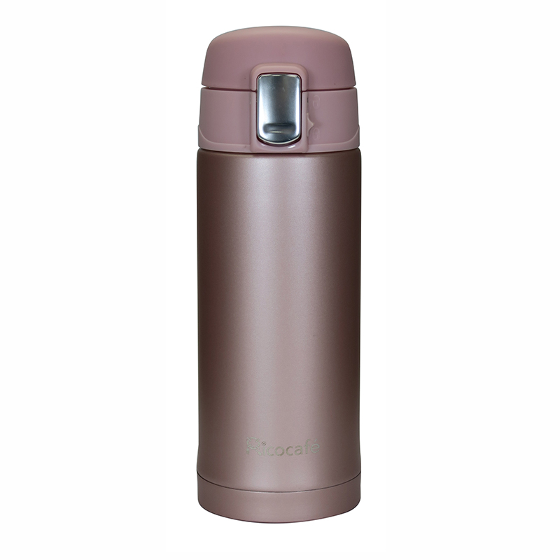 Stainless Steel Vacuum Mug One Touch Open 200ml