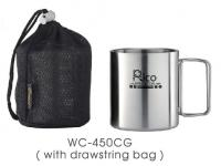 Stainless Steel Double Wall Mug with Adjustable Handle