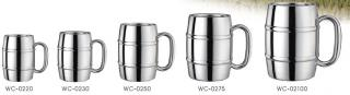 Stainless Steel Double Wall Beer Mug