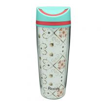 Plastic Double Wall Water Bottle 350ml