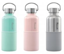 Stainless Steel Vacuum Sports Bottle with Handle