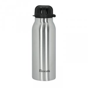 Stainless Steel Vacuum Sport Bottle with Straw