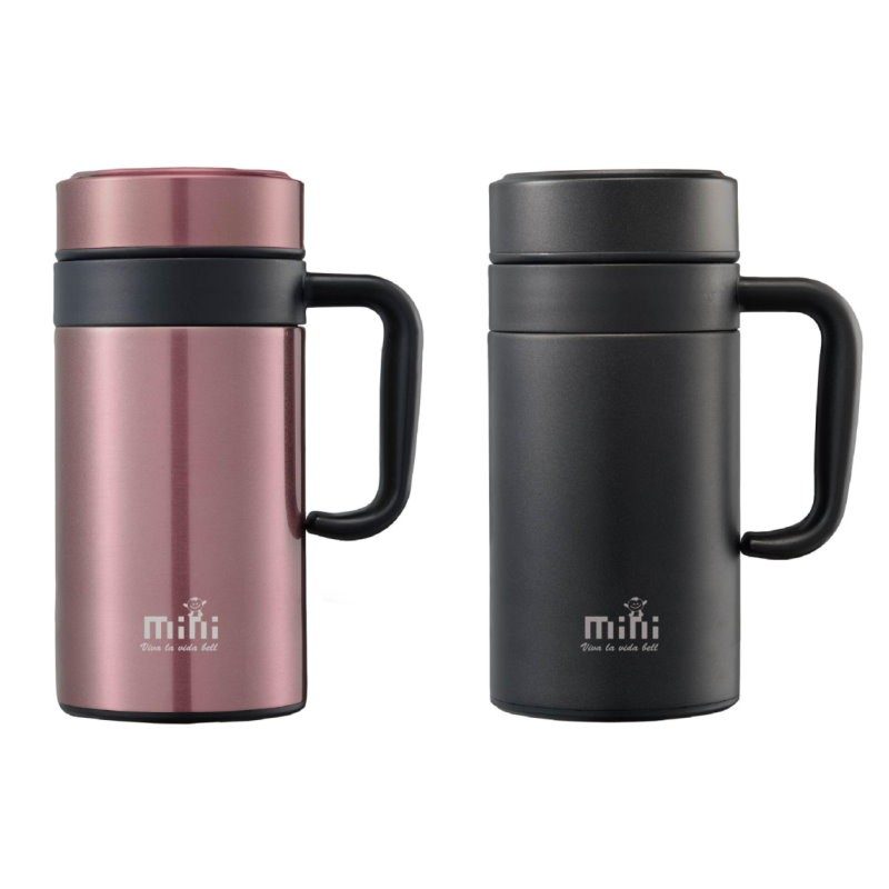 Handle Stainless Steel Vacuum Coffee Mug
